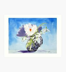 Flowers for Mary Art Print