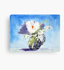 Flowers for Mary Metal Print