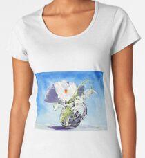 Flowers for Mary Women's Premium T-Shirt