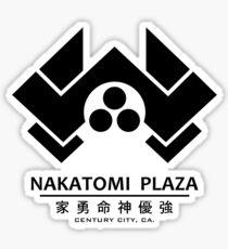 Nakatomi Plaza: Centure City, CA Sticker
