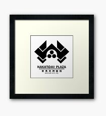 Nakatomi Plaza: Centure City, CA Framed Print