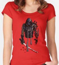 Cyborg Ninja Camiseta entallada de cuello redondo
