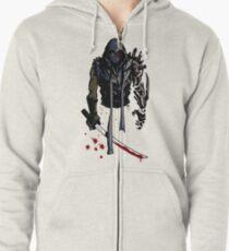 Cyborg Ninja Sudadera con capucha y cremallera
