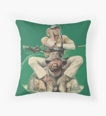 Bud Spencer & Terence Hill Throw Pillow