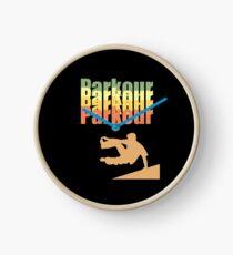 Parkour Retro Design - Parkour Clock