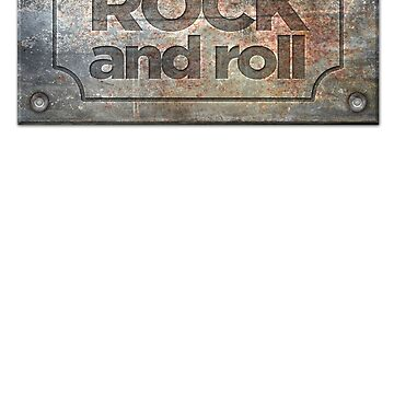Rock and Roll Iron Badge by sventshirts