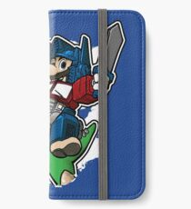 Optimus Mario Vinilo o funda para iPhone