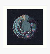 Mind Eruption Art Print