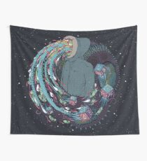 Mind Eruption Wall Tapestry