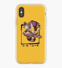 Totoro y Nekobus happy trip Vinilo o funda para iPhone