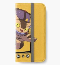 Totoro y Nekobus happy trip Vinilo o funda para iPhone