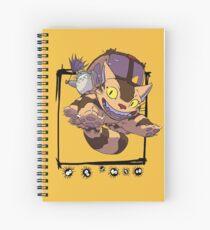 Totoro y Nekobus happy trip Cuaderno de espiral