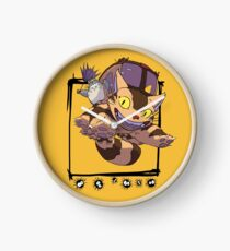 Totoro y Nekobus happy trip Reloj