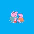 Peppa Pig Family by nicksala