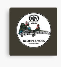 Blohm & Voss BV-38 - Inspired by Indiana Jones Canvas Print