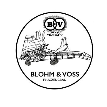 Blohm & Voss BV-38 (B&W Version) - Inspired by Indiana Jones by WonkyRobot