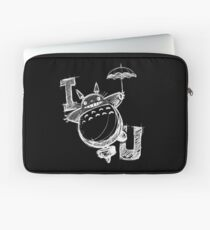 I Love Totoro and I love you too Funda para portátil