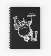 I Love Totoro and I love you too Cuaderno de espiral