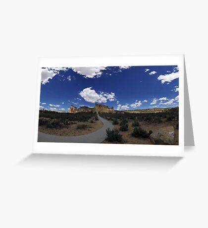 Grosvenor Arch, Utah Greeting Card