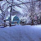 Foot of snow by LudaNayvelt