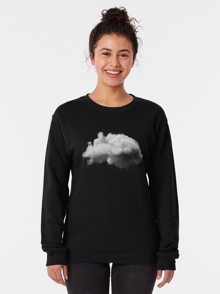 Alternate view of WAITING MAGRITTE Pullover Sweatshirt