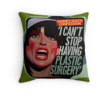 Shock Confession (Dannii) Throw Pillow