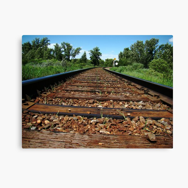 I hear the Train a comin' Canvas Print