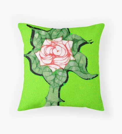 Scribblertoo Rose Floor Pillow