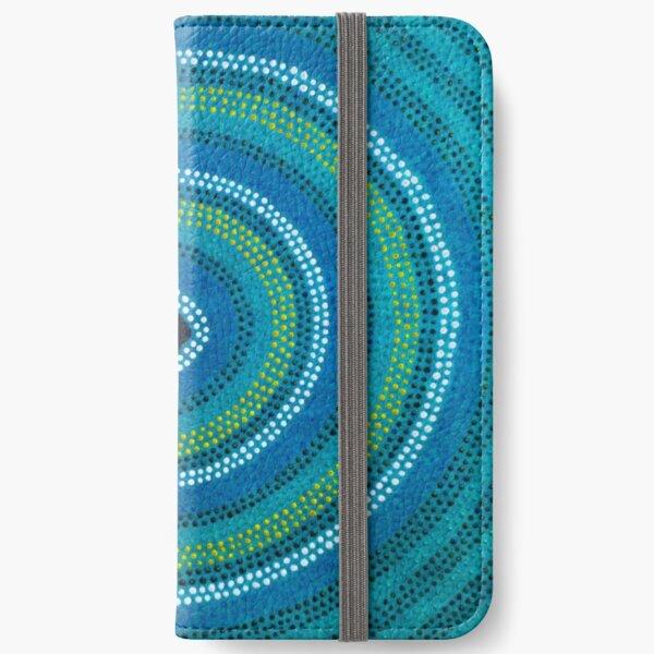 Secret Waterhole (Blue) iPhone Wallet