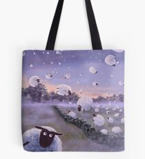 Flying Sheep Tote Bag
