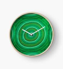 Geheimes Wasserloch (Grün) Uhr