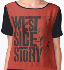 West Side Story Chiffon Top