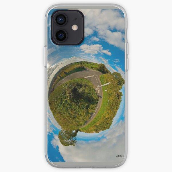 Country Roads - Killea Crossroads, Derry, N. Ireland iPhone Soft Case