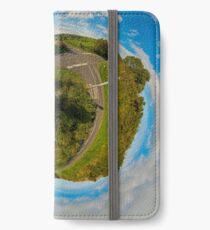 Country Roads - Killea Crossroads, Derry, N. Ireland iPhone Wallet/Case/Skin