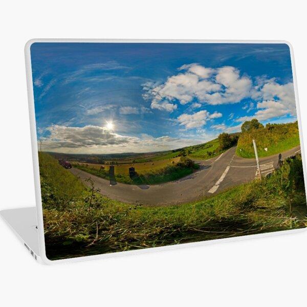 Country Roads - Killea Crossroads, Derry, N. Ireland Laptop Skin