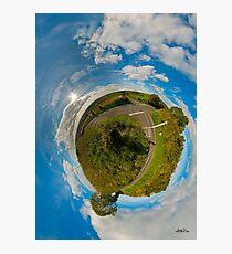 Country Roads - Killea Crossroads, Derry, N. Ireland Photographic Print