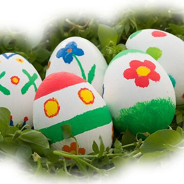 Decorated Easter eggs by acasali