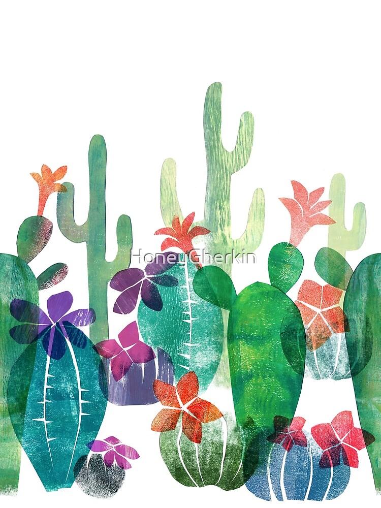 Blooming desert by HoneyGherkin
