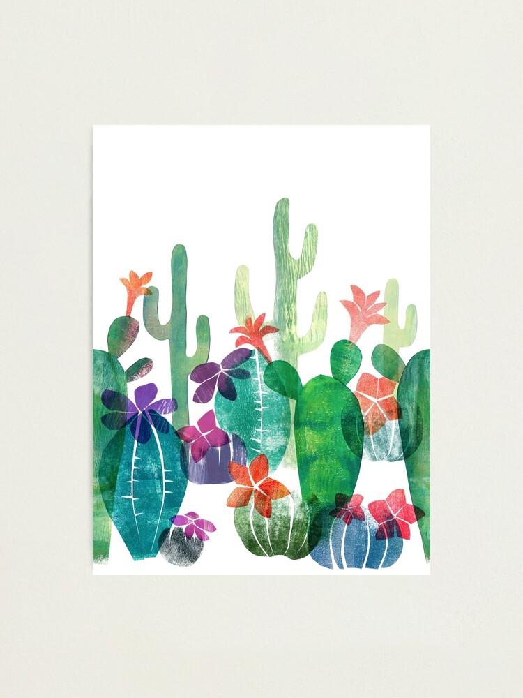 Alternate view of Blooming desert Photographic Print