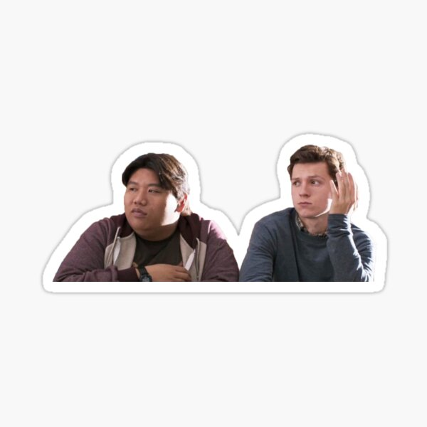 Peter & Ned Sticker Sticker