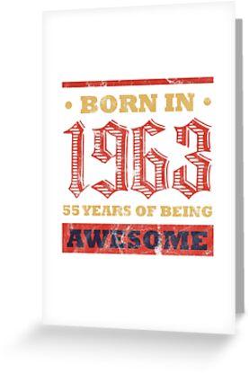55 Year Old Birthday Gift