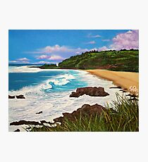 Waimea Bay  Photographic Print