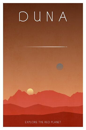 Kerbal Space Program Poster - Duna von HappySquiddy