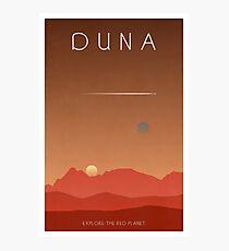 Lámina fotográfica Cartel del Programa del Espacio Kerbal - Duna