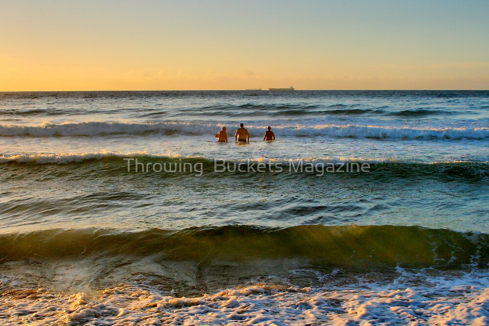 morning dip by Throwing  Buckets Magazine