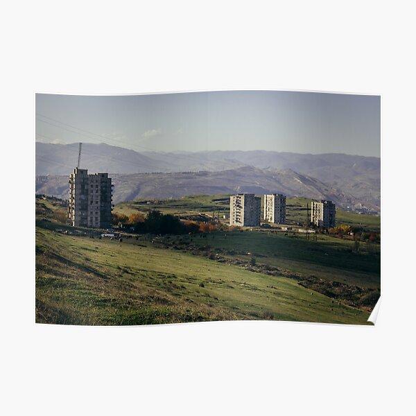 Tbilisi suburb Poster