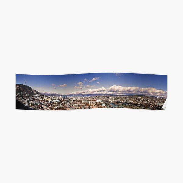 Tbilisi Panorama Poster