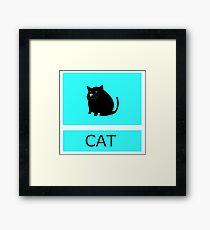 CAT 001 Framed Print