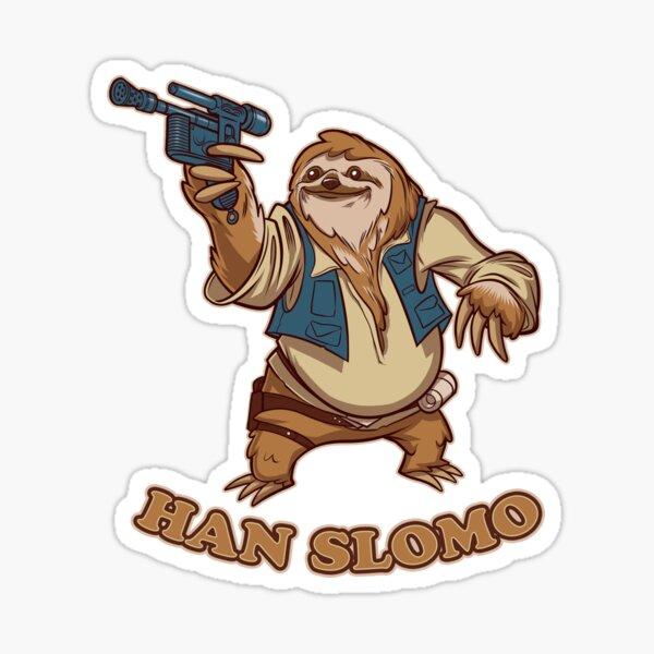 Han Slomo Sticker