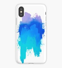 Blue Stain iPhone Case